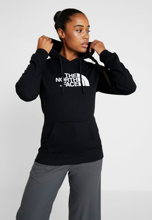 WOMENS DREW PEAK HOODIE - Hoodie - black/white