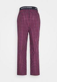 Jack & Jones - JACRED CHECK PANT - Pyžamový spodní díl - red bud - 1