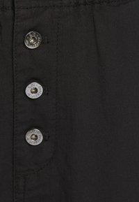 Q/S designed by - LANG - Pantalon classique - black - 2