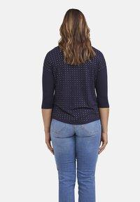 Fiorella Rubino - CON APPLICAZIONI - Long sleeved top - blu - 2