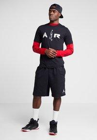 Jordan - TEE AIR  - Print T-shirt - black - 1