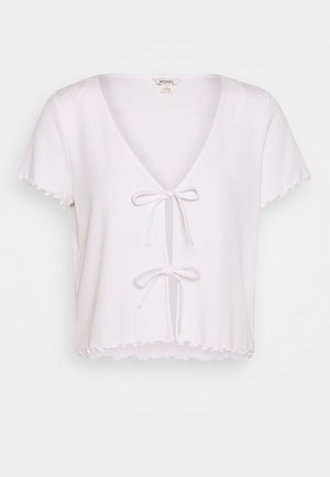 NILLAN - Camiseta estampada - white