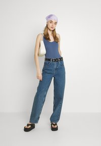BDG Urban Outfitters - STRAPPY BUNGEE BODY THONG STRAP - Top - navy - 1