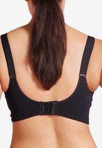 Carriwell - MATERNITY & NURSING BRA WITH PADDED CARRI-GEL SUPPORT - Bustier - black - 2