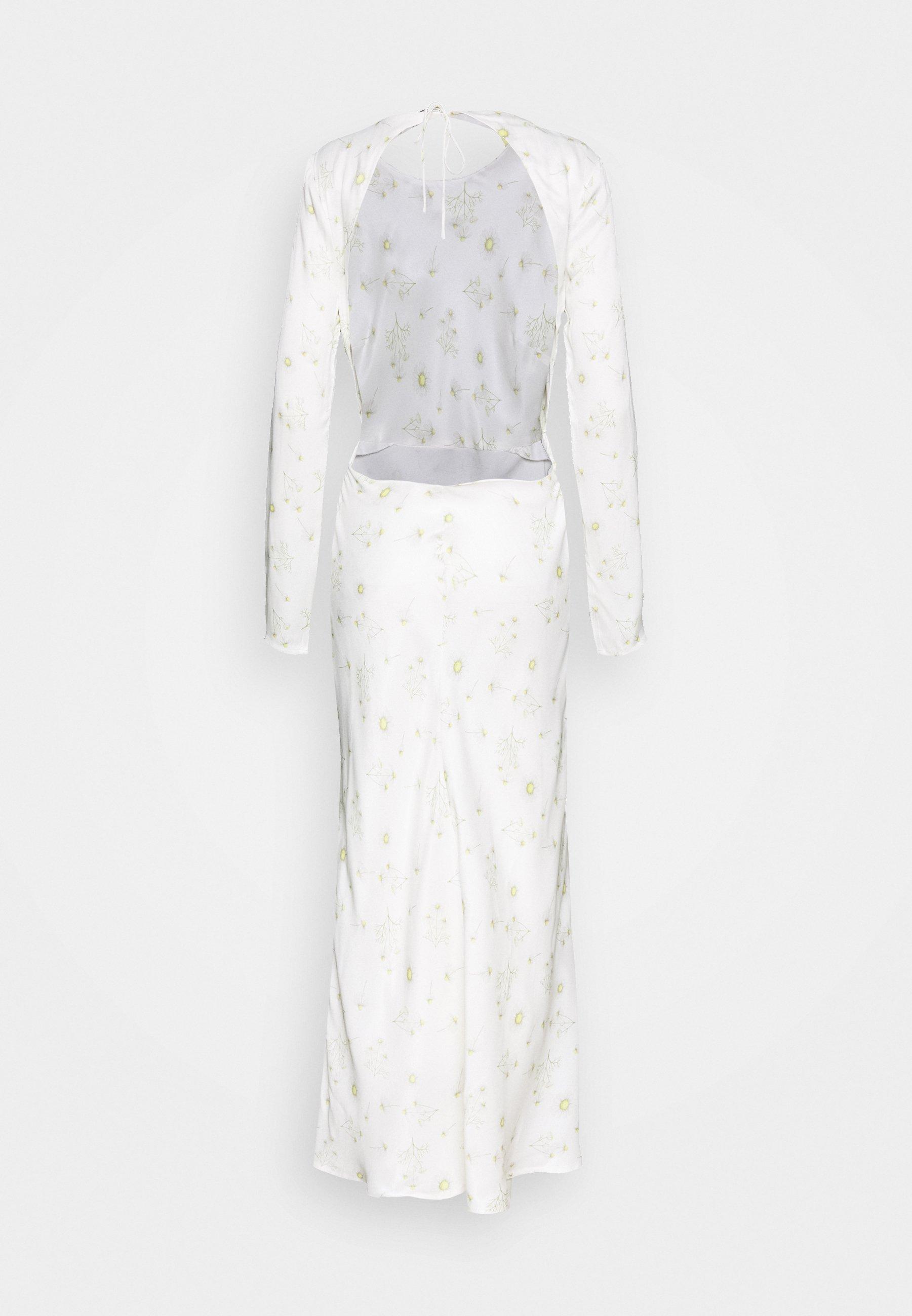 Third Form WILD FLOWERS BIAS - Maxikjole - white