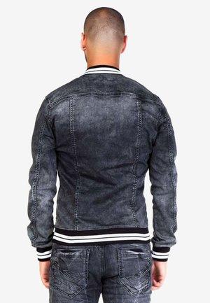 Denim jacket - anthracite