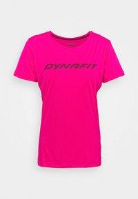 Dynafit - TRAVERSE TEE - T-shirts print - pink glo - 0