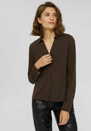 Skjortebluser - dark brown