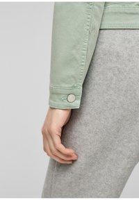 Q/S designed by - Denim jacket - mint - 6