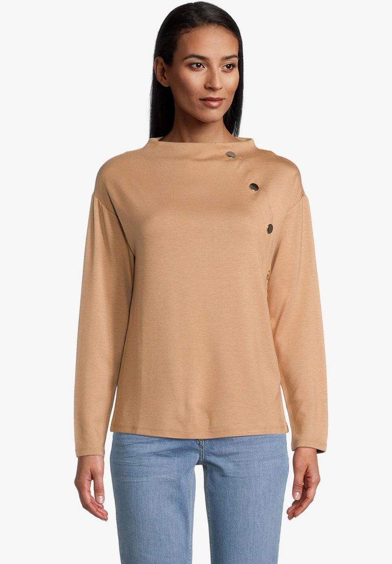 Betty Barclay - MIT STEHKRAGEN - Sweatshirt - beige