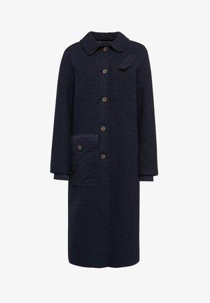BELTED FIELD PADDED - Manteau classique - mazarine blue