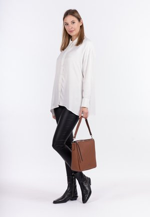 BEUTEL EILEEN - Handbag - cognac 700