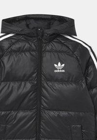 adidas Originals - UNISEX - Down coat - black/white - 2