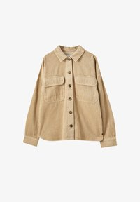 PULL&BEAR - Button-down blouse - brown - 6
