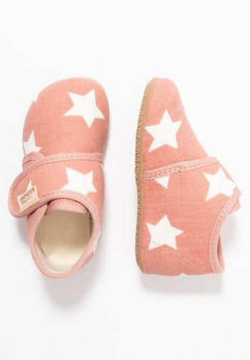 BABYKLETT STERNE - Touch-strap shoes - dark rose/cloud