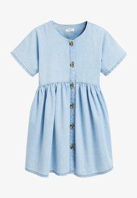 Next - RELAXED  - Denim dress - light blue - 1