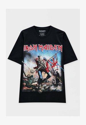 IRON MAIDEN THE TROOPER - T-shirt med print - mottled black
