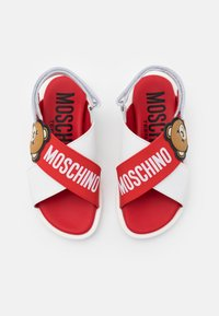 MOSCHINO - Sandals - white/red - 3