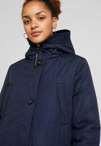 Marc O'Polo - BIG PUFFER COAT PADDED REVERSIBLE - Winter coat - midnight blue - 6