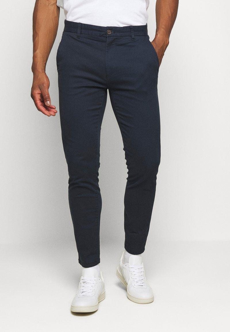 Burton Menswear London - Pantalones chinos - navy
