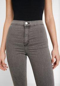 Topshop - JONI  - Jeans Skinny Fit - grey - 3