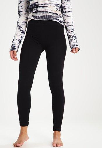 SAVASANA - Leggings - black