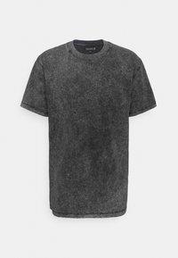 Basic T-shirt - acid wash black