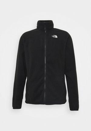 GLACIER FULL ZIP - Fleece jacket - black