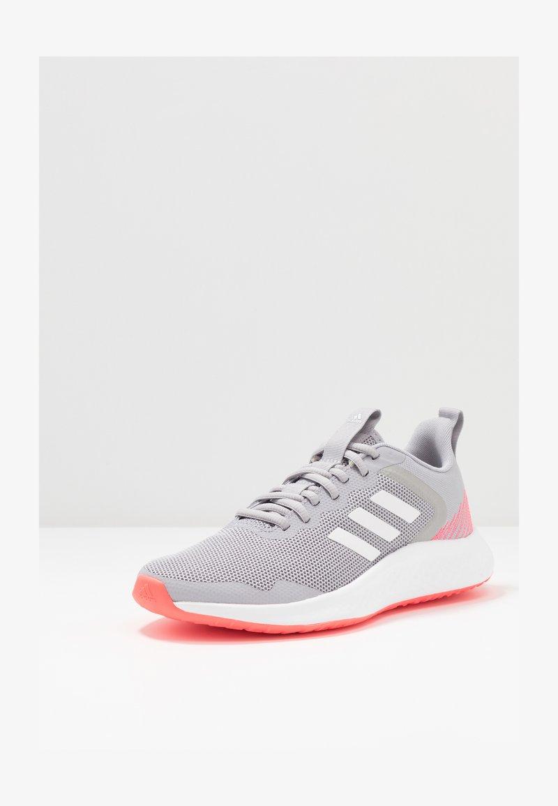 adidas Performance - FLUIDSTREET - Trainings-/Fitnessschuh - glow grey/footwear white/grey two