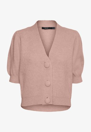 Cardigan - misty rose