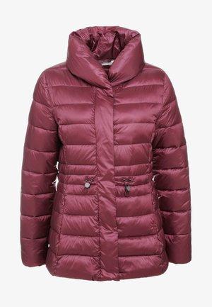 REID QUILT - Light jacket - rouge