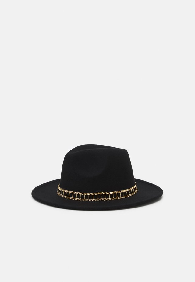 FEDORA - Hatt - black/gold-coloured