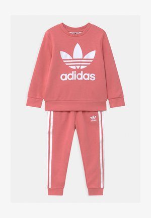 CREW SET UNISEX - Tracksuit - hazy rose/white