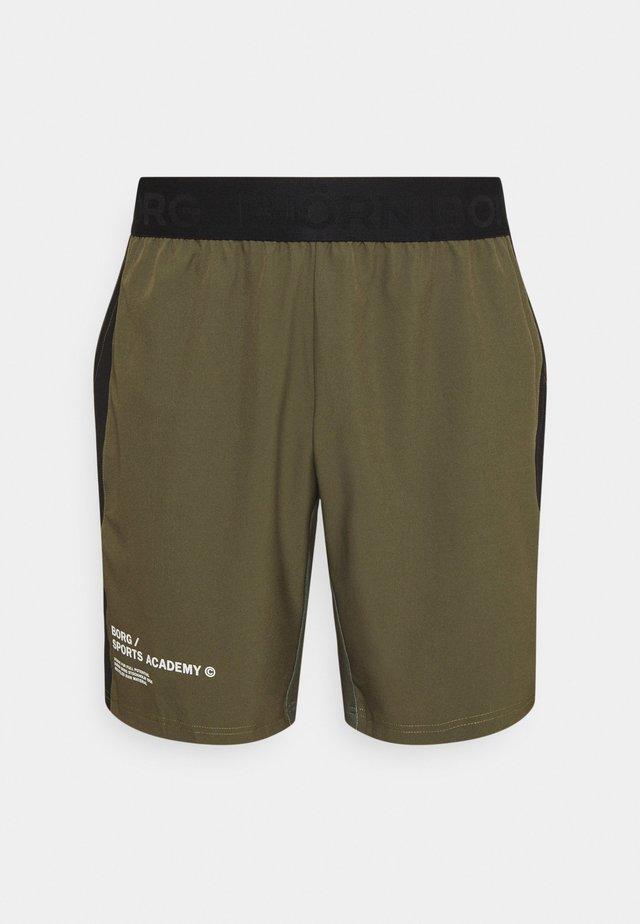 SPORTS ACADEMY SHORTS - Sports shorts - ivy green