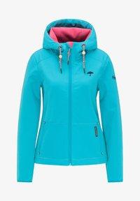 Schmuddelwedda - Outdoor jacket - turquoise - 4