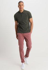 Scotch & Soda - CLASSIC CLEAN - Polo shirt - military melange - 1