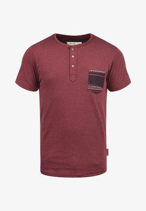 ART - Print T-shirt - dark red