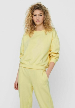 Sweatshirt - pastel yellow