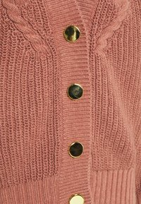 Object Tall - OBJBIRGITHA CARDIGAN - Cardigan - withered rose - 2