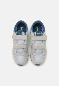 Saucony - JAZZ DOUBLE KIDS UNISEX - Baskets basses - grey/green/blue - 3