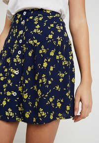 Leon & Harper - JIMBO CHERRY - A-line skirt - navy - 4