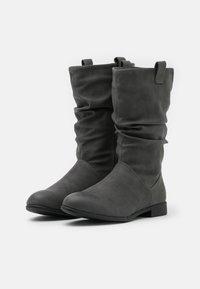 New Look - CHERISH - Vysoká obuv - mid grey - 2