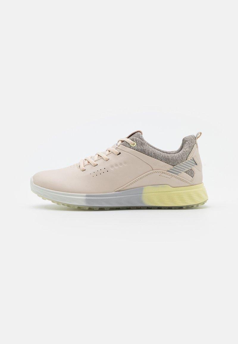 ECCO - THREE - Golf shoes - limestone