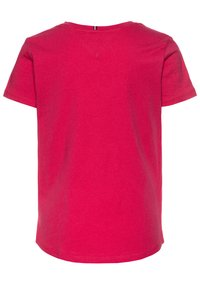 Tommy Hilfiger - ESSENTIAL TEE  - T-shirt print - pink - 1