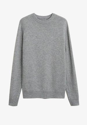 TEXAS - Pullover - dunkelgrau meliert
