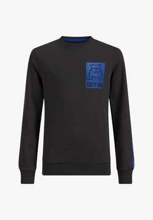 OPDRUK - Long sleeved top - dark grey