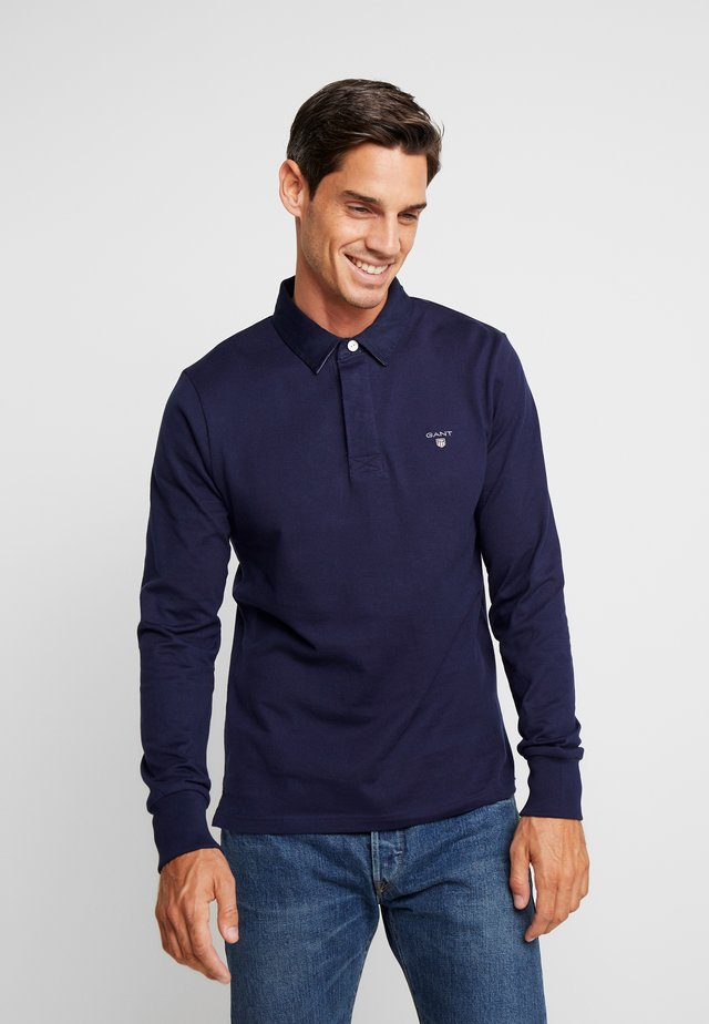 THE ORIGINAL HEAVY RUGGER - Polo shirt - evening blue