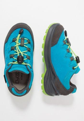 DIEGO II GTX  - Hiking shoes - blau/limone
