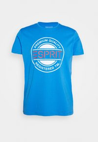 T-shirt med print - bright blue