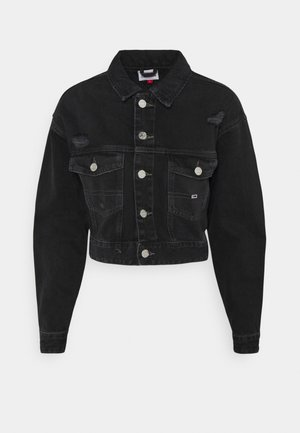 CROPPED TRUCKER JACKET - Denim jacket - save